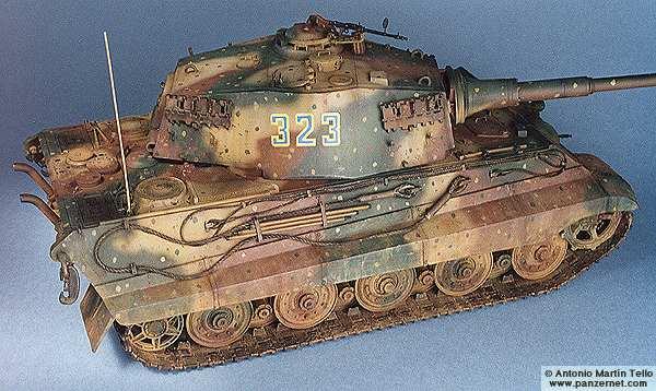char type landcreuzer P 1000 Ratte jamais construit - Page 14 TigerII25
